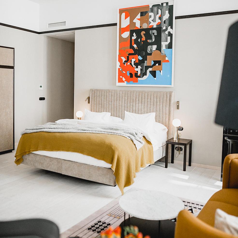 Suite Large #36 - Josef Hoffmann Suite - Boutique Hotel Altstadt Vienna